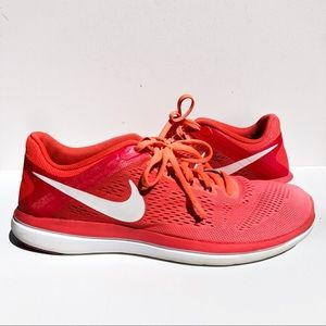 Nike Shoes - Nike Flex Ombré Athletic Running Shoes Womens 10